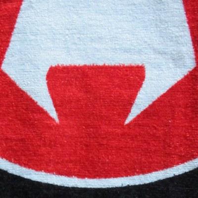 Velour_håndklæde_opskåret_frotte_med_logo