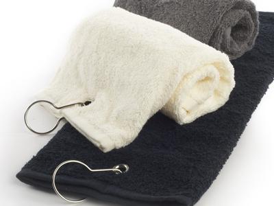 Golfhåndklæder med logo