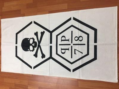 Reklamehåndklæde, trykt, med tryk, logo