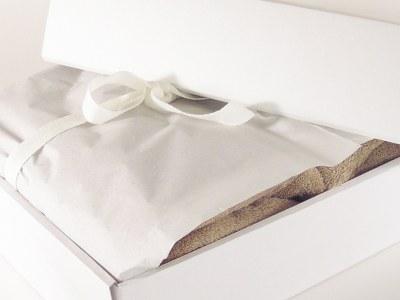 Luksus håndklæder sæt i gaveæske