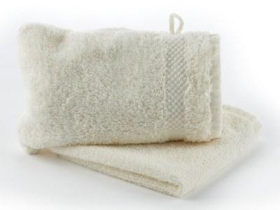 Frotté vaskeklude og vaskehandske-luksus-logo