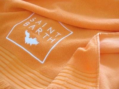 Reklamehåndklæder med frynser