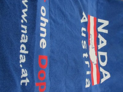 Reklamehåndklæder med indvævet firma navn
