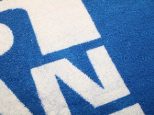 Håndklæder med indvævet logo