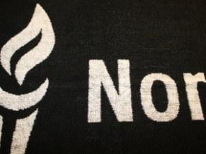 Jacquardvævet håndklæder med logo