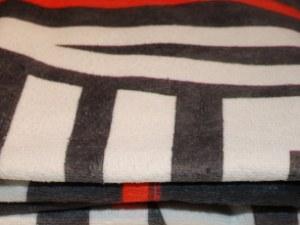 Microfiber håndklæder med trykt logo